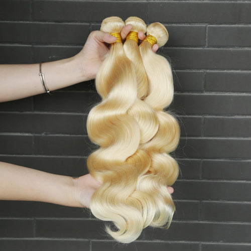 Rosabeauty 8A #613 Blonde Body Wave Hair Bundles  1-3 Bundles