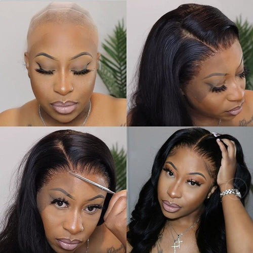 Undetectable Transparent Lace Wig/HD Lace Wig Loose Wave Full Lace Front Wig