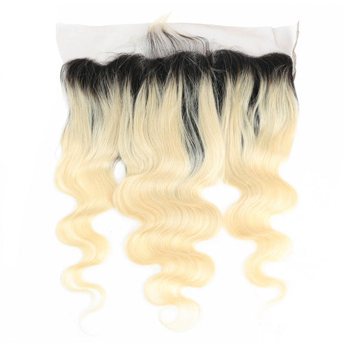 #1B/613 Blonde 13x4 Lace Frontal Body wave