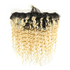 #1B/613 Blonde 13x4 Lace Frontal Deep Wave