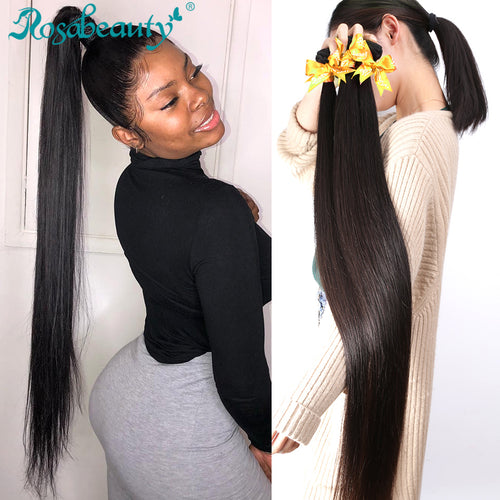 Special Long Hair Bundles 26 - 40Inches  Straight/Body wave/Deep Curly