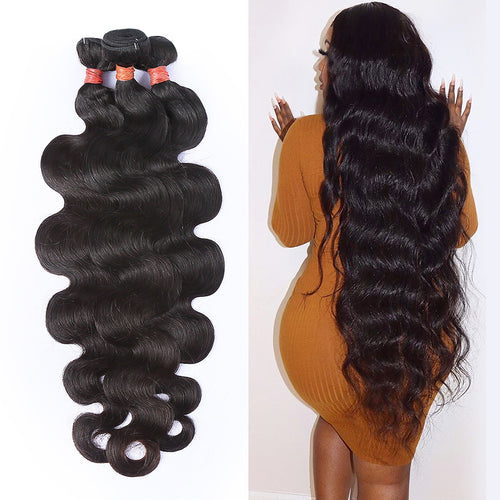 Special Long Hair Bundles 26 - 40Inches Body Wave Brazilian Virgin Hair