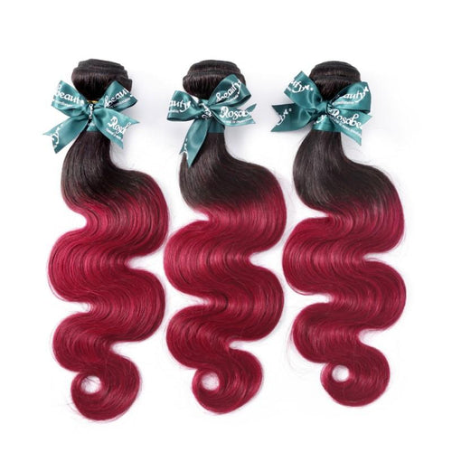 Rosabeauty 8A 99J Straight Hair Bundles