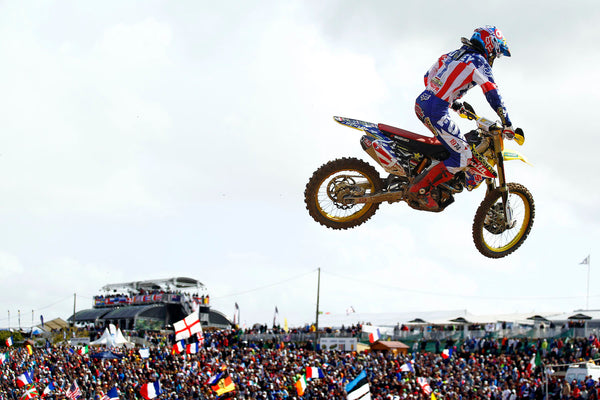 Ryan Dungey at Circuit du Puy de Poursay in St. Jean d'Angely, France in 2011