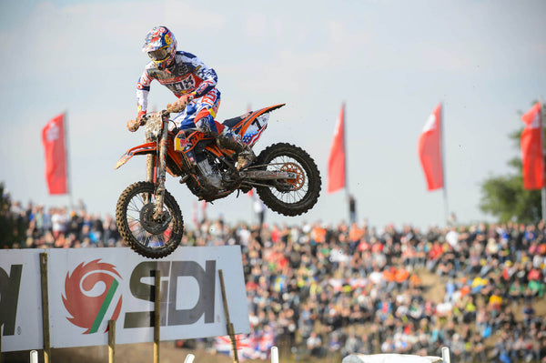 Ryan Dungey racing at Talkessel in Teutschenthal, Germany in 2013