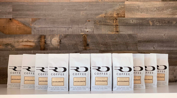 RD Coffee Accelerate Bags