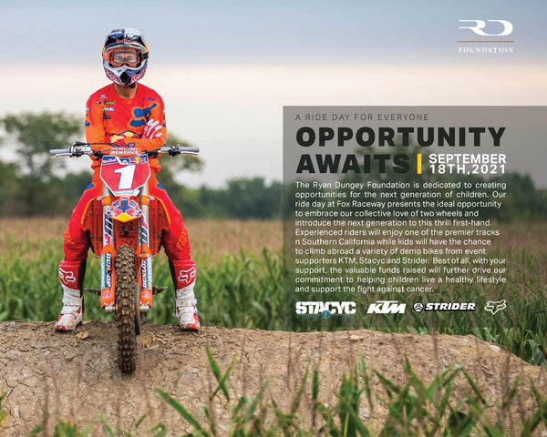 Opportunity Awaits Ride Day