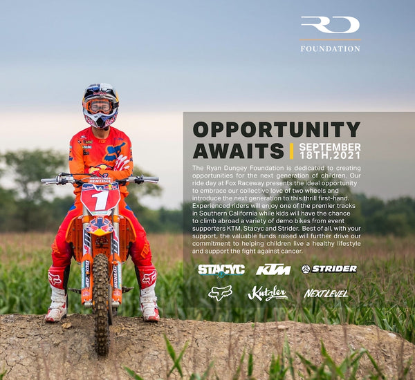 Ryan Dungey Foundation, Opportunity Awaits Ride Day