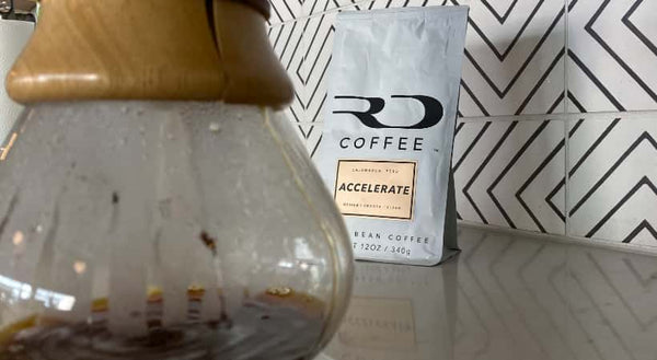 ACCELERATE with Chemex coffeemaker
