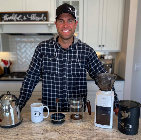 Ryan Dungey shows his French Press brewing setup
