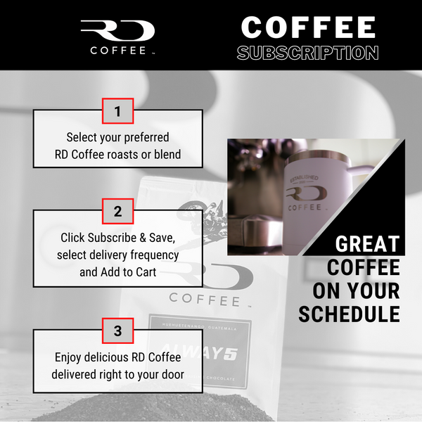 RD Coffee Subscriptions