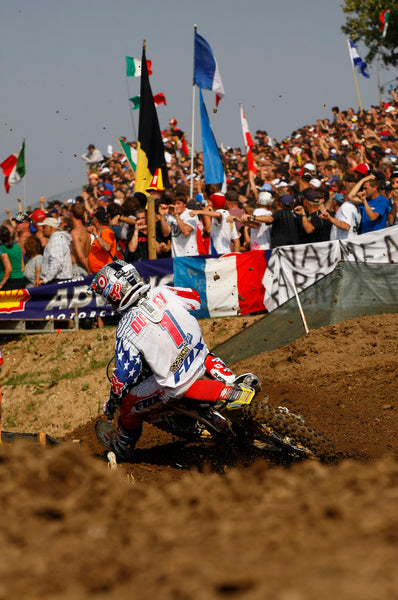 Ryan Dungey at the 2009 MXoN heading to victory