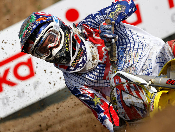 Ryan Dungey at the 2009 MXoN focused on hitting his line