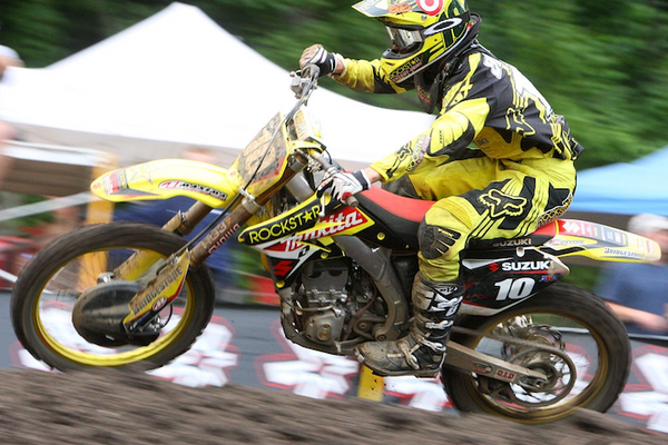 Ryan Dungey competing at the 2009 RedBud National