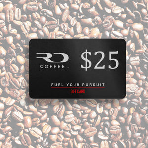 $25 RD Coffee Gift Card