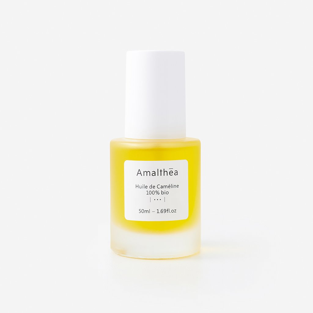 Gold-of-Pleasure oil - texture