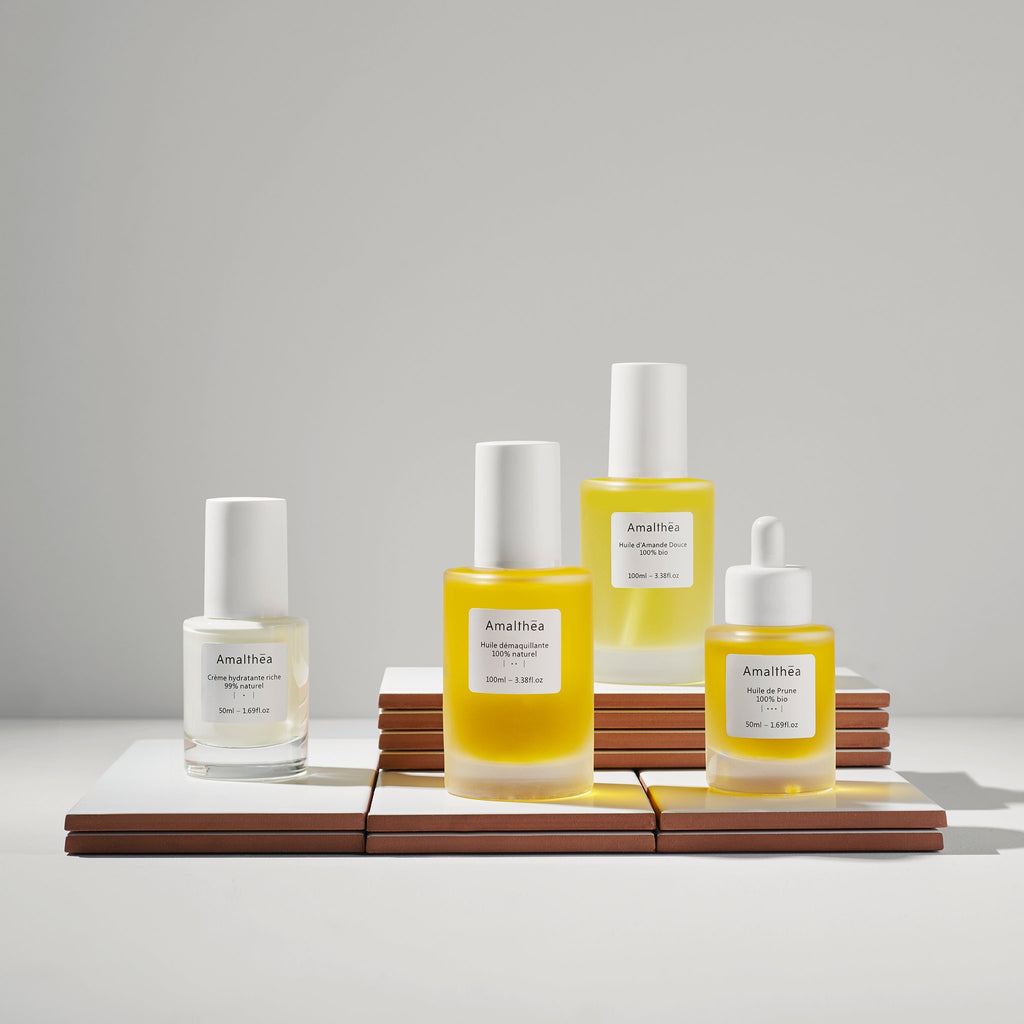 Simple, our beauty routine