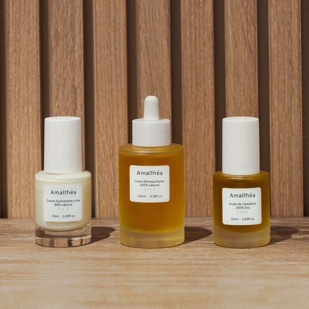 Skincare routine subscription: dry & mature skin | Amalthea
