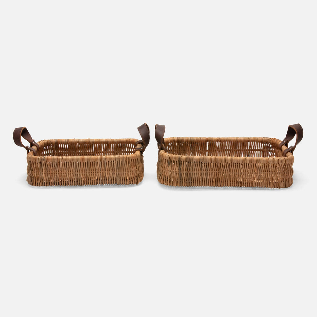Pigeon & Poodle Yakima Rectangular Baskets - Lavender Fields