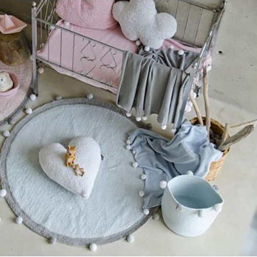 Lorena Canals Baby Basket Bubbly - Pink - Lavender Fields