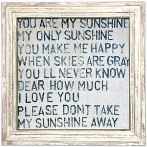 Sugarboo Designs You Are My Sunshine Art Print Lavender Fields