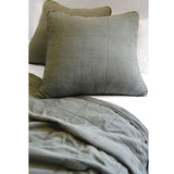 Pom Pom at Home Antwerp Moss Coverlet - Lavender Fields