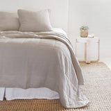 Pom Pom at Home Antwerp Natural Large Euro Pillow Sham - Lavender Fields