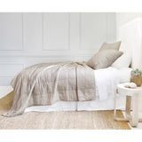 Pom Pom at Home Antwerp Natural Coverlet - Lavender Fields
