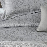 Peacock Alley Bella Damask Duvet Cover - Lavender Fields