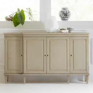 Somerset Bay Clearwater Breakfront Cabinet - Lavender Fields