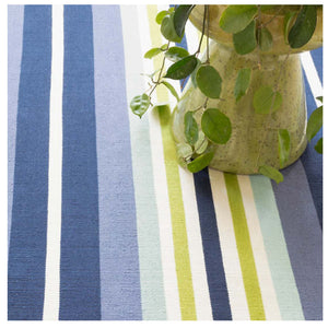 Dash and Albert Elliot Stripe Indoor/Outdoor Rug
