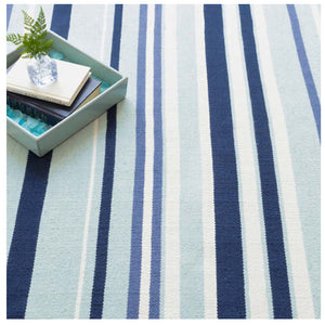 Dash and Albert Marley Stripe Indoor/Outdoor Rug