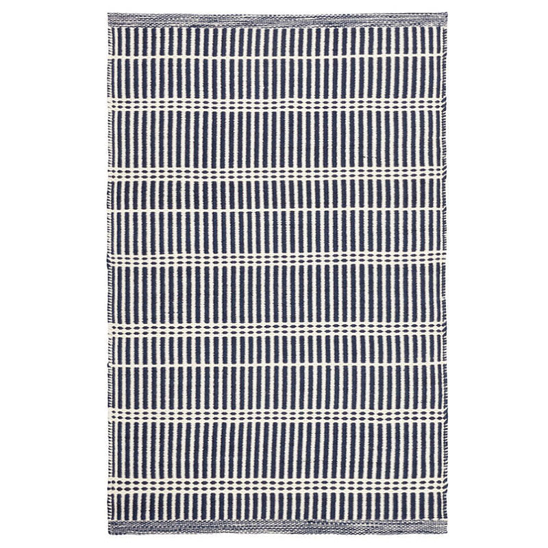 Dash and Albert Marlo Navy Indoor/Outdoor Rug