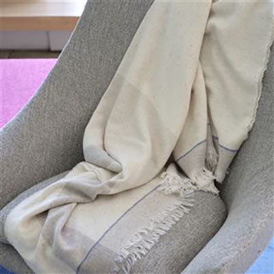 Designers Guild Burano Dove Throw