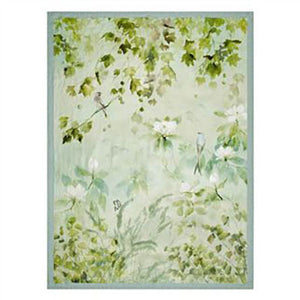 Designers Guild Maple Tree Celadon Throw - Lavender Fields