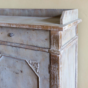 Painted Butler's Cabinet - Lavender Fields
