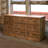 Old Pine Seed Cabinet - Lavender Fields