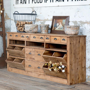 Farmhouse Pantry Counter - Lavender Fields