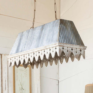 Old Porch Light Fixture - Lavender Fields