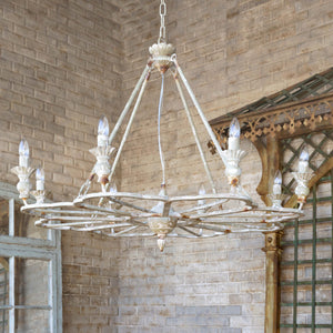 French Follie Chandelier - Lavender Fields