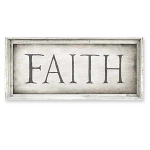 Sweet Gumball Faith Sign Art Print