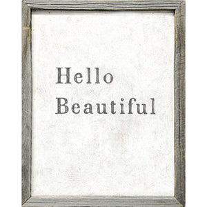 Sugarboo Designs Hello Beautiful Art Print