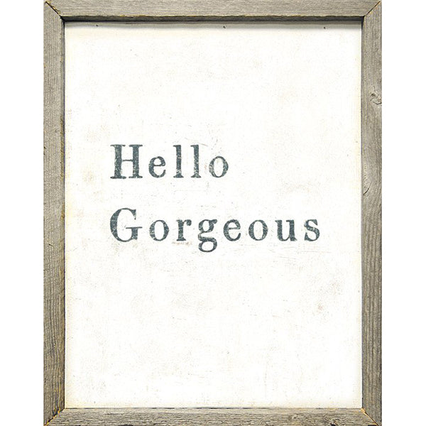 Sugarboo Designs Hello Gorgeous Art Print