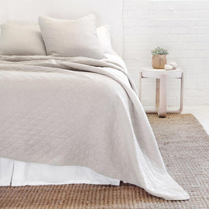 Pom Pom at Home Huntington Taupe Coverlet - Lavender Fields