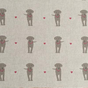 Rock + Cherry Puppy Love Linen