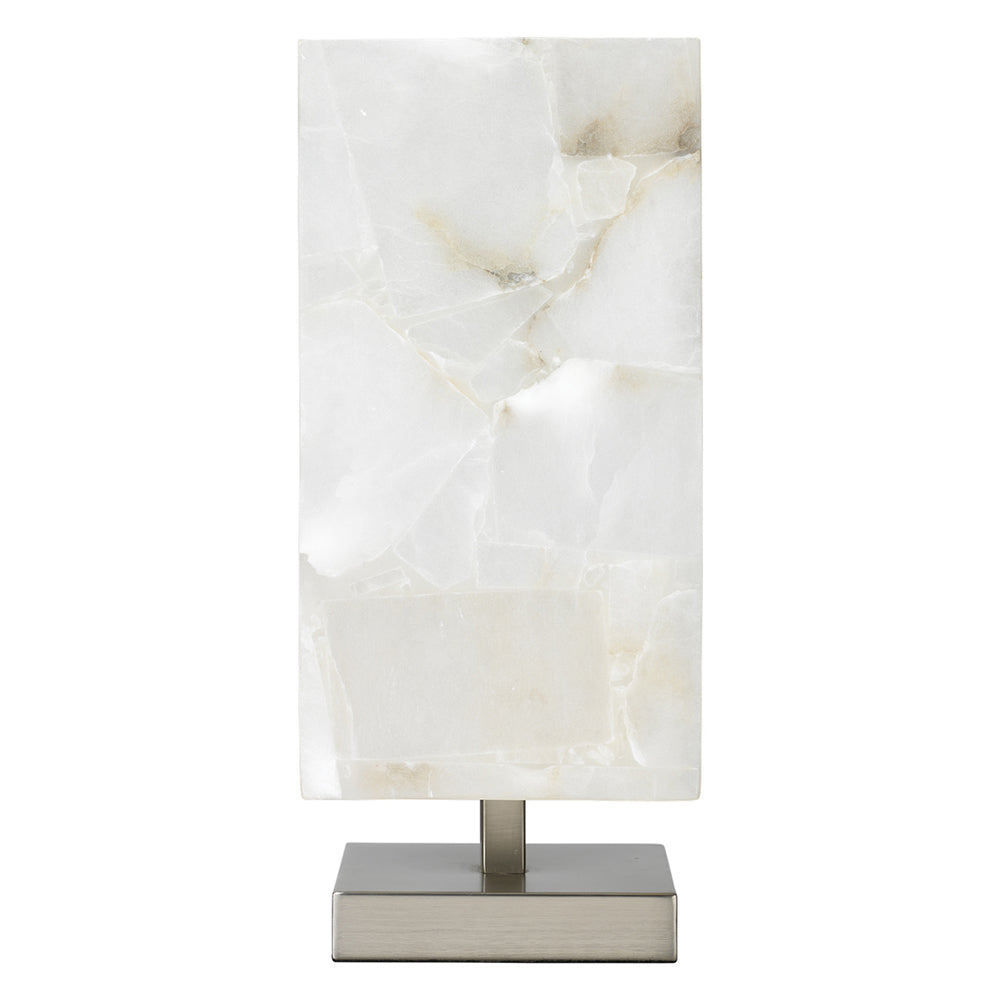 Jamie Young Ghost Axis Table Lamp - Silver Base