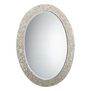 Jamie Young Oval Mirror - Large - Lavender Fields