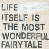 "Sugarboo Designs Life Itself is the Most Wonderful Fairytale Art Print (Gallery Wrap) 24"" x 24"" - Lavender Fields"
