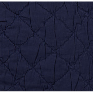 Traditions Linens Louisa Navy Coverlet