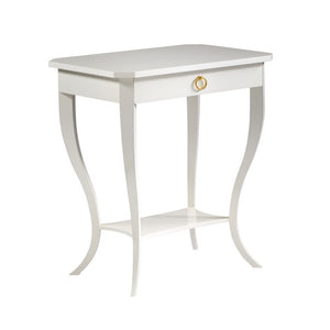 Modern History Covington Chairside Table - Lavender Fields